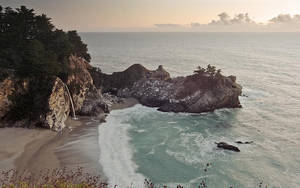 McWay Falls in the Gloaming by nathanspotts