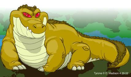 Giant Crocodile by DM404