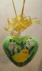 Easter heart by Fuffe-Tuff