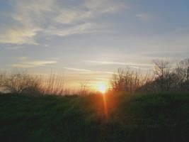 The Sun Kisses The Earth by HeidiK1