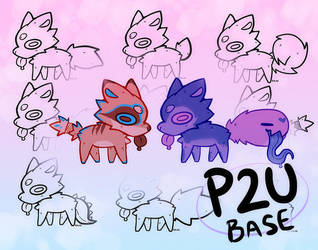little blep p2u bases - $2.50 or 250 points! by Toesies