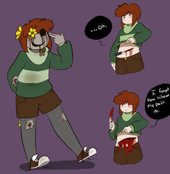 Chara.... No. Staph. by Channydraws