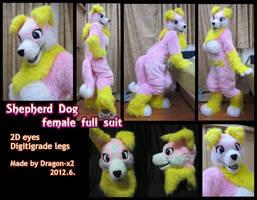 Shepherd dog female full suit by dragon-x2