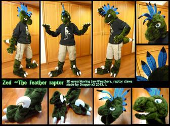 Zed the Raptor half suit by dragon-x2