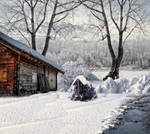 At the Cabin Premade Background 2 by VIRGOLINEDANCER1