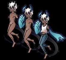 Spectrel Custom for VelvetPandaa by AshenSpectre