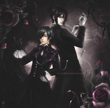 Kuroshitsuji: Ciel and Sebastian by K-Koji