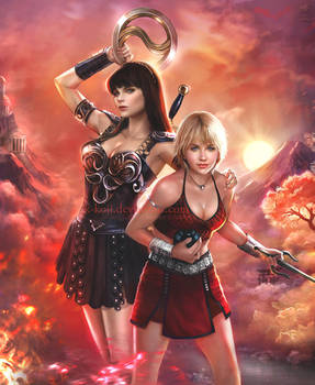 Xena Warrior Princess: Resurrection by K-Koji