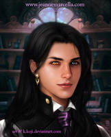 Portrait Commission: Agustin Chavez De La Cruz by K-Koji