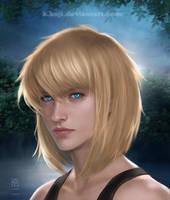 Portrait Commission: Hero by K-Koji