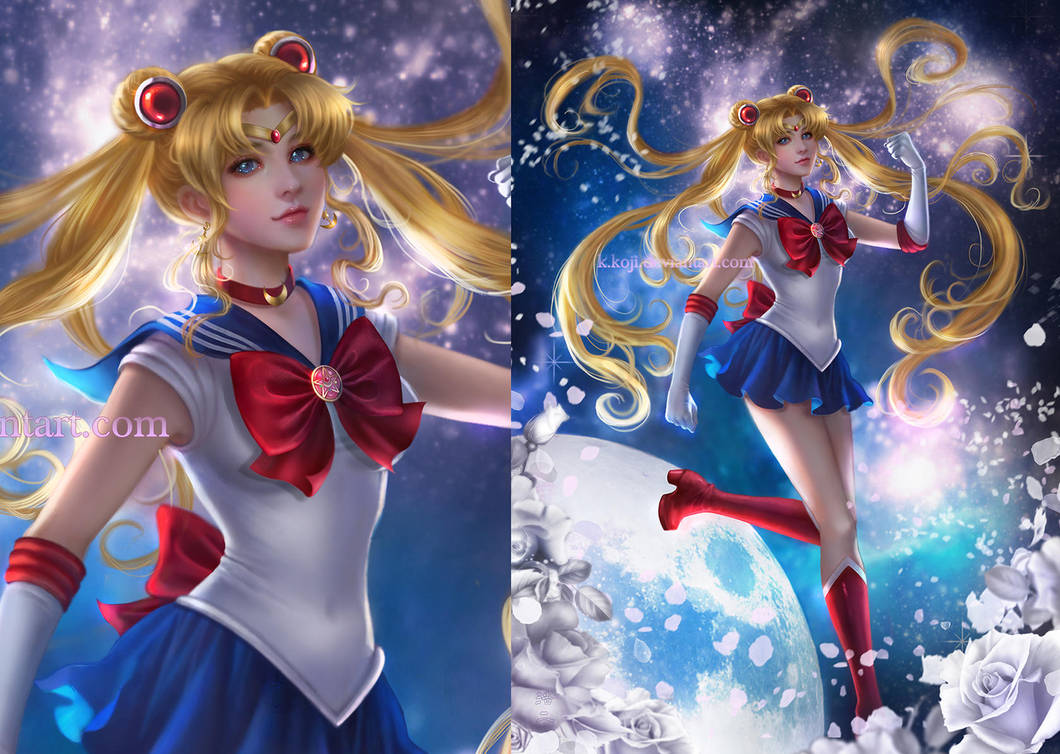 Sailor Moon by K-Koji