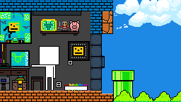 MY OWN ROOM IN PIXEL GAME-WORLD. by QuanDoMinh