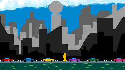CITY NEW-YORK IN PIXEL-WORLD. by QuanDoMinh