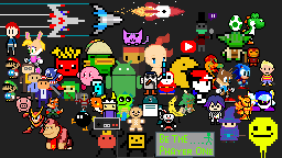 BE THE PLAYER ONE HERO IN PIXEL WORLD. by QuanDoMinh