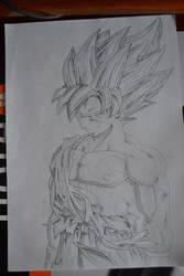 Goku Ssj2 Draw by RJEsteves
