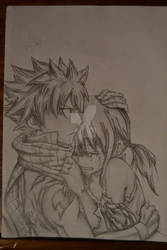 Natsu And Lucy by RJEsteves