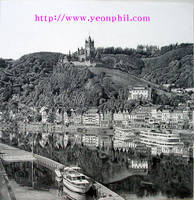 Germany Cochem drawing by sharppower