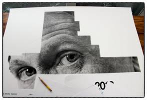 Gary Oldman drawing wip(2) by sharppower