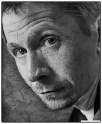 Gary Oldman drawing by sharppower