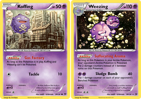 Koffing / Weezing - AL #29 #30 by OmriStyle