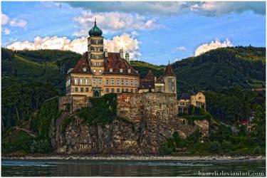 Castle Wachau Austria by hauerli