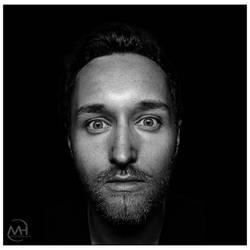 Monochrome Portrait by hauerli
