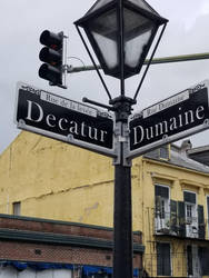 Decatur and Dumaine by RenaissancePurple