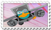 Platyborg stamp by Nicktthewolf