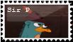 Sir. P Stamp by Nicktthewolf