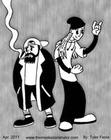 Steamboat: Jay and Silent Bob by TheMaskedAnimator