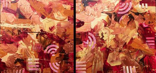 Crimson Royal Diptych by cjheery