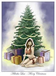 Mikisha Lisa - Merry Christmas by Nesskain