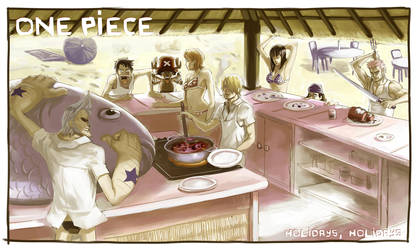 One Piece fanart by Nesskain