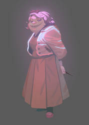 Dolores Umbridge by Nesskain