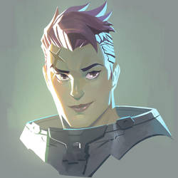 Overwatch - Zarya by Nesskain