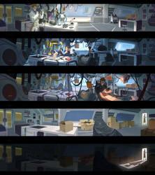 OW Moira Origin Story 1/5 by Nesskain