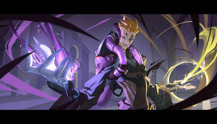 Overwatch Moira Origin Story part 5/5 by Nesskain