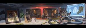 Wrecking Ball Origin Story 1 by Nesskain
