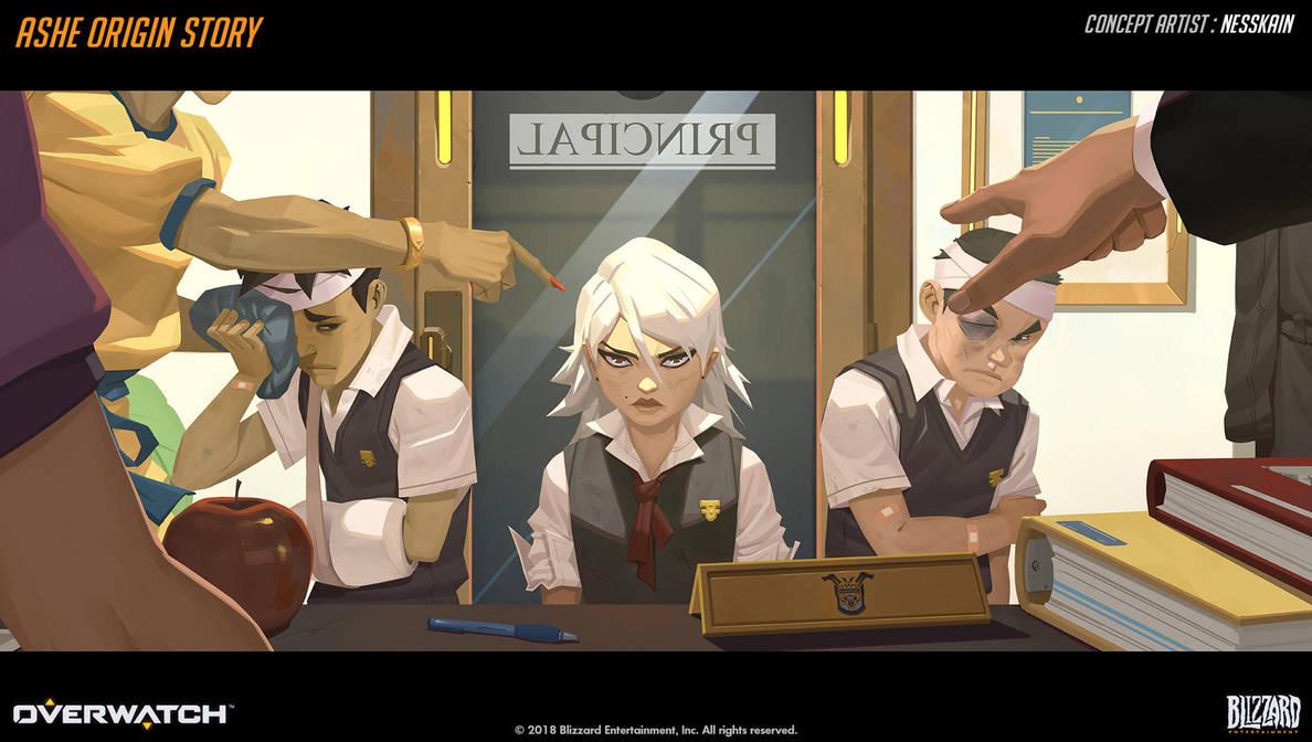 Ashe Origin Story - 02 by Nesskain