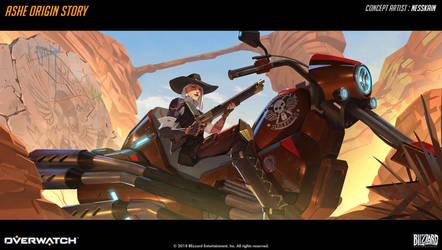 Ashe Origin Story - 10a by Nesskain