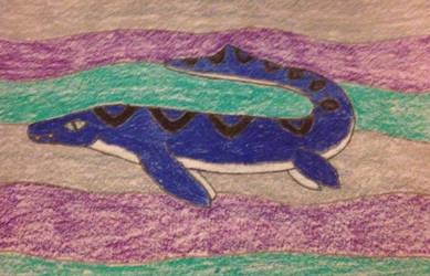 Mosasaur Fail by The-Last-Sea-Serpent