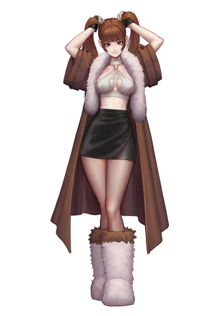 corgi girl by jungonkim