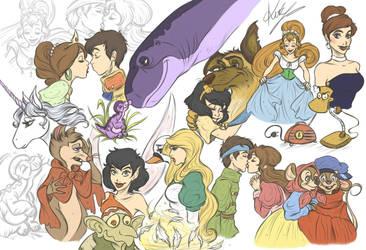 Unforgetable Childhood - doodles by sarumanka