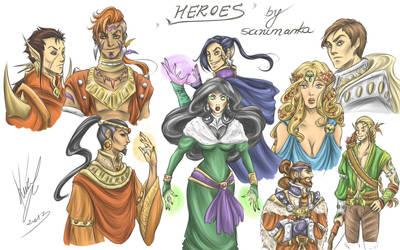 Heroes by sarumanka