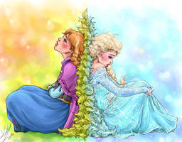 Do You Want To Build a Snowman... by sarumanka