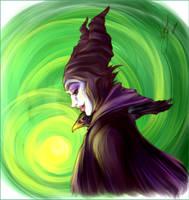 Maleficent by sarumanka