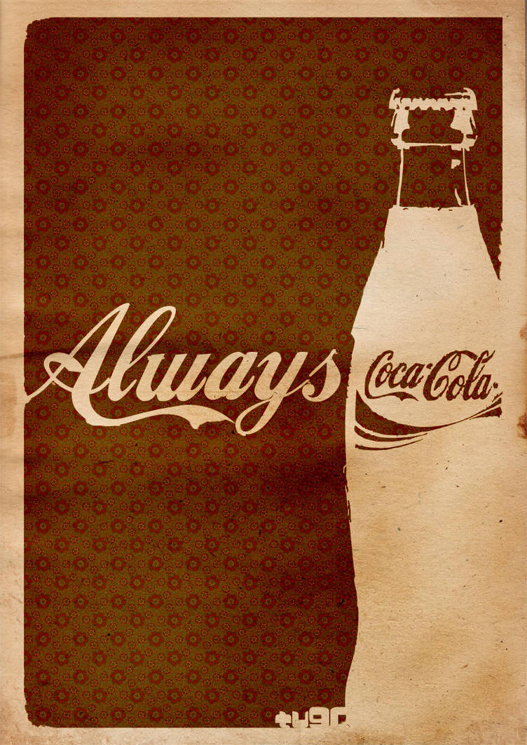 Vintage Cola by kennyisdeadiamtavi