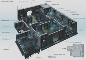 Ship Armoury Interior Concept by Magnum117