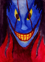 Blue Laugh by holyguyver