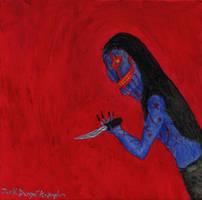 The Sneer - Oil Painting by holyguyver